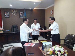 PLH Sekkot Kupang Pimpin Sertijab Sekretaris KPAD