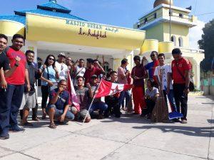 Alumni GMNI NTT Bhakti di Mesjid dan Katedral Ende