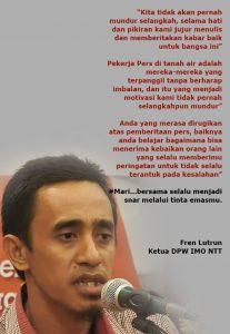 DPW IMO NTT Desak Polisi Tuntaskan Masalah Kekerasan Terhadap Radar Bogor