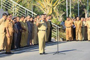 Penjabat Gubernur NTT angkat Tropi TPID terbaik