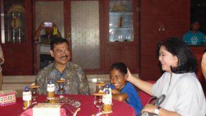 Pulang Dari Jakarta Joni Disambut Penjabat Gubernur