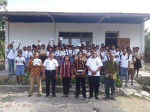 Pemkab Kupang – BNNP Sosialisasi Bahaya Narkoba di SMAN 3 Persiapan Kupang