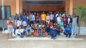 SNIPER '17, Happy Bersama Anak Panti Sonaf Manekan