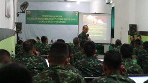 Staf Ahli Kodam IX/Udayana Bekali Brigif 21/Komodo