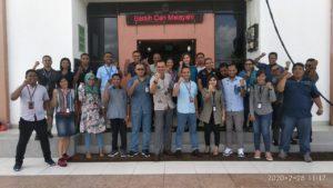Aparat PN Oelamasi Dapat Ilmu Menejemen Publik Dari BRI Cabang Kupang