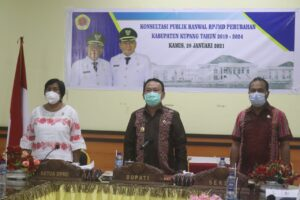 Penyempurnaan penyusunan RPJMD Perubahan Kabupaten Kupang, Butuh Saran OPD