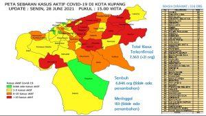 Kota Kupang Makin Seram ? Senin, Tambah Lagi 21 Kasus Baru Covid-19 di Kota Kupang