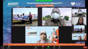 Rumah Zakat Bantu Nelayan Kota Kupang