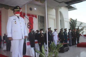 Wakil Bupati Kupang jadi Irup Penurunan Bendera