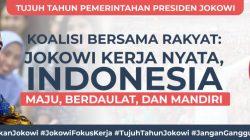 """Spanduk Bertuliskan """"Dukung Jokowi"""" Bertebaran di Mana-Mana,"""